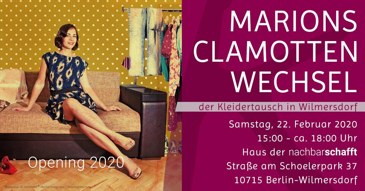 Kleidertausch in Berlin | Komood | Opening 2020